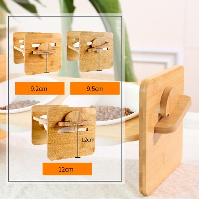 1/2/3 Ceramic Dish Bowl Wooden Table  4