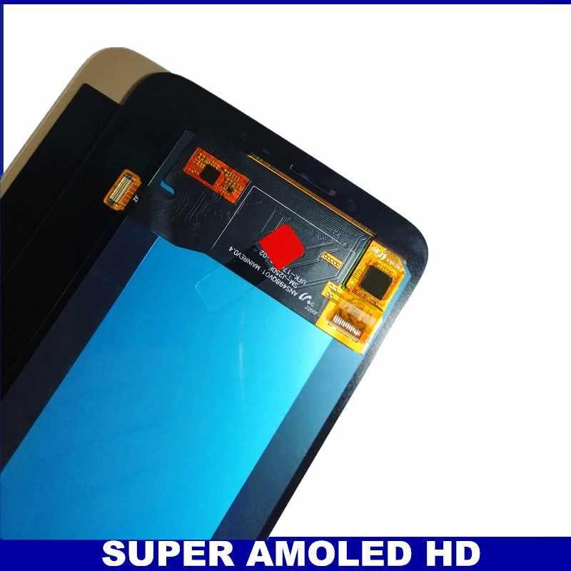 بعد اختبار j250 عرض هو مناسبة لسامسونج غالاكسي J2 برو 2018 J250 J250F J250H J250M LCD محول الأرقام بشاشة تعمل بلمس componen