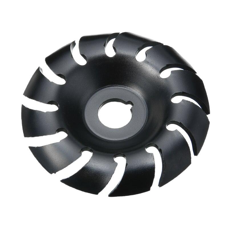 12 zähne Holz Carving Disc Winkel Grinder Holzbearbeitung 90mm Holz Gestaltung Schleifen schleifen Maschine für Zimmerei Winkel Grinder-Tool