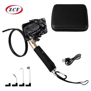 Image 1 - Caméra Endoscope portatif Wifi, 8MM 1080P HD, étanche, USB, pour Inspection, pour téléphone Android, avec boîte cadeau