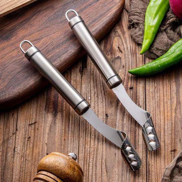 Household Stainless Steel Pepper Seeder Vegetable And Fruit Corer Kitchen Gadgets Vegetable Tool