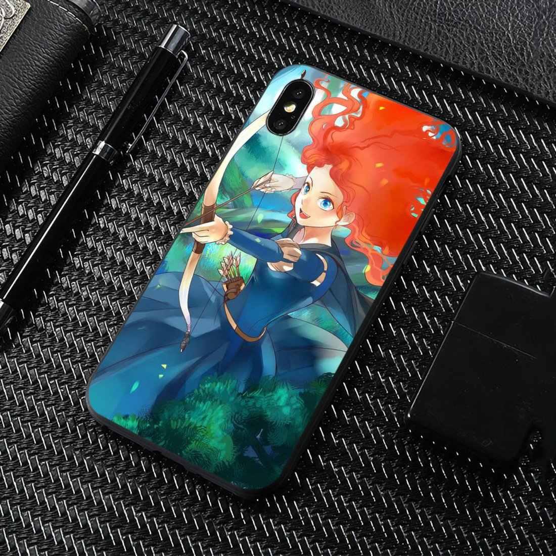 Cartoon Girl Brave Merida Cover For Meizu M6 M5 M6S M5S M2 M3 M3S NOTE MX6 M6t 6 5 Pro Plus U20 Luxury Silicone Phone Case