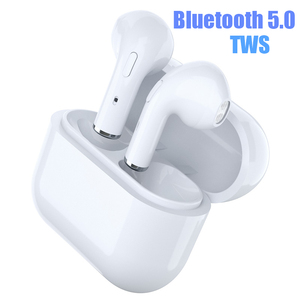 airpodsor headphones wireless bluetooth 5.0 earphone with microphone charging box Button control earphones music Headset
