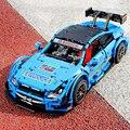 Машинка с дистанционным управлением Technic APP  совместимая с Legoed  MOC-6687  синий гоночный автомобиль BENZ C63  набор моделей  строительные блоки  кирп...