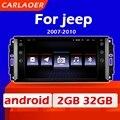 Автомобильный мультимедийный стерео-радиоприемник на Android для Jeep Cherokee Compass Commander Wrangler 300C Dodge Caliber Liberty 2009 2008 2010 2011