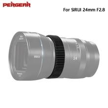 Pergear TPU Follow Focus Ring for SIRUI 24mm F2.8 1.33x Anamorphic Lens