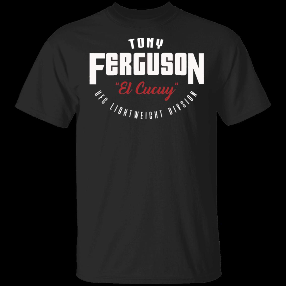 Tony Ferguson Team El Cucuy 2020 Black T Shirt Men Women M-XXXL Tee Shirt Classic Custom Design