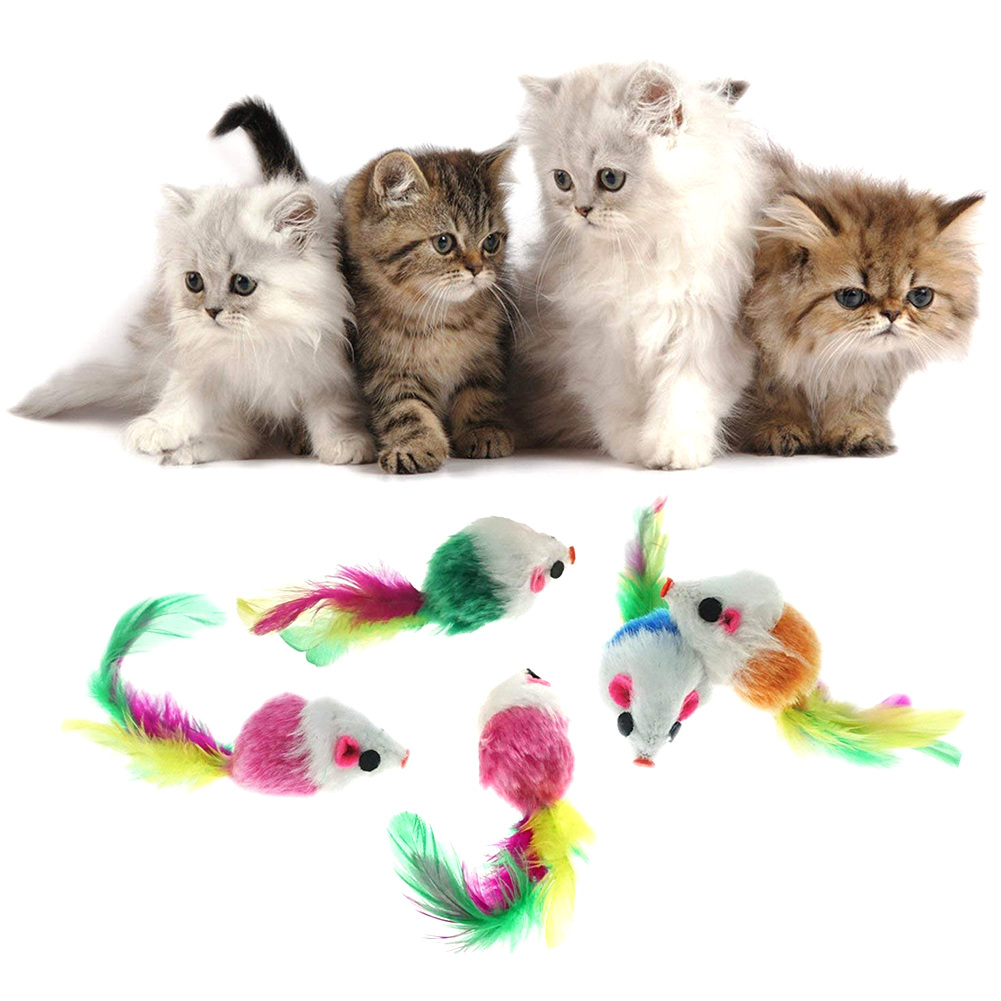 1 Pc Cat Toys False Mouse Interactive Mini Funny Animal Playing Toys For Cats Kitten