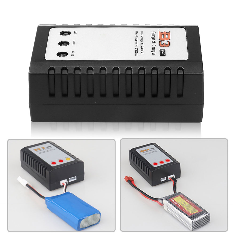 Fast Charge IMAX RC B3 Pro Compact Balance Charger for 2S 3S 7 4V 11 1V Lithium LiPo Battery EU US Plug Balanced Chargers