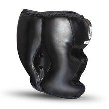 Защитная Экипировка тренировочный спарринг боксерский шлем спортивный PU головной механизм регулируемый