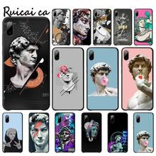 Vintage Plaster Statue David Aesthetic Art Cover For Xiaomi Redmi Note 4x 4a 5 5a Plus 6 6a Pro S2 Telephone Accessories vintage plaster statue david aesthetic art cases cover for xiaomi redmi note 4x 4a 5 5a plus 6 6a pro s2 phone accessories