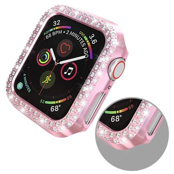 Double Rows Diamond Case for Apple Watch 4