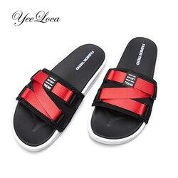 2019 novos chinelos masculinos unisex moda verão sapatos sandálias de praia de couro ao ar livre slides sapatos casuais flip flops tamanho grande 47