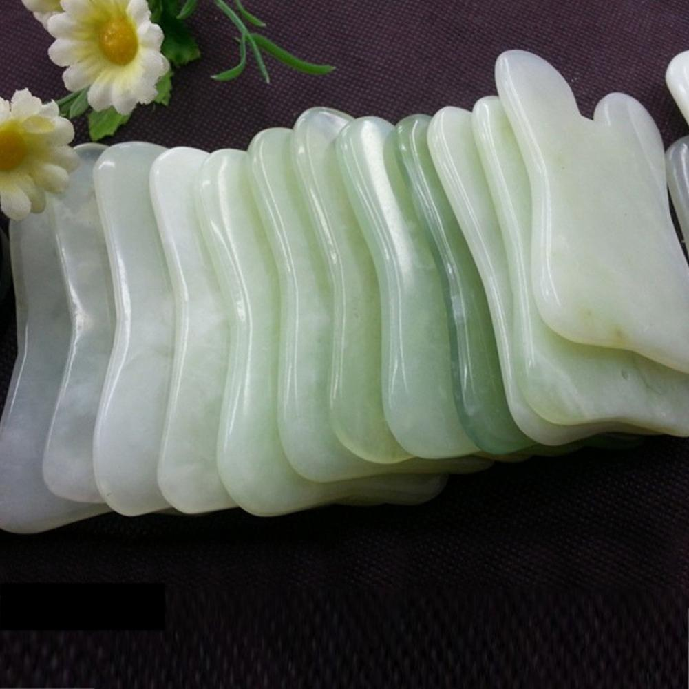 Useful Faux Jade Scraping Board Slimming Massage Tool Spa Body Face Massager Relaxation Anti-wrinkles Beauty Care