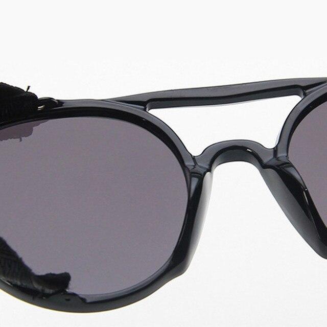 RBROVO-lunettes de Soleil Punk pour hommes et femmes, marque de luxe, Vintage, de styliste, pour hommes et femmes, 2019