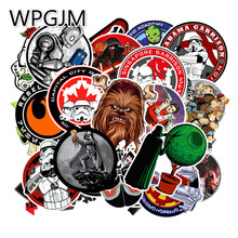 цена на 100Pcs Star Wars Stickers for Laptop Skateboard Motorcycle Home Decor Car Styling Graffiti Decals Doodle Cool DIY  Sticker