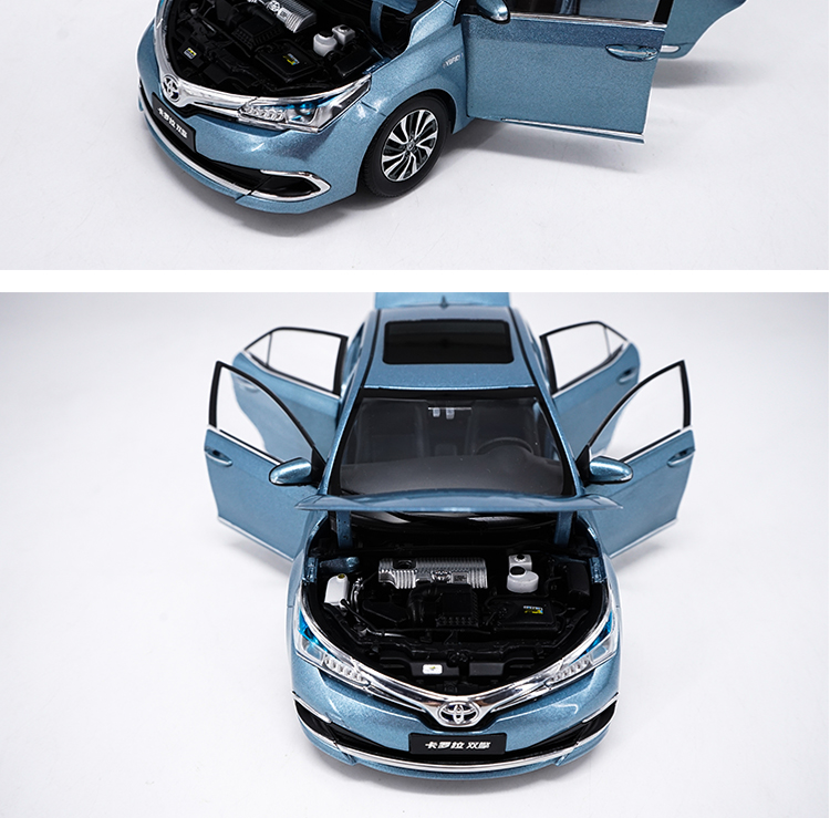 1:18 carro de modelo de liga metálica