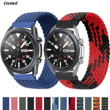 Braided Solo Loop-Band Bracelet Huawei Galaxy Watch 2e/pro-Strap 42mm/active Samsung