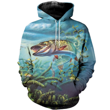 Tessffel New Fashion Animal Fishing Art Colorful Casual Tracksuit 3D full Print Hoodie/Sweatshirt/Jacket/shirts Mens Womens S-6