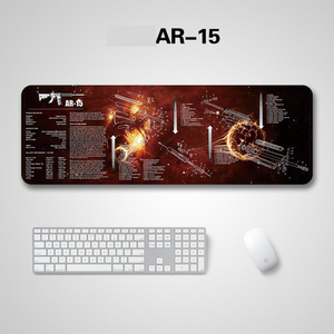 AR15 AK47 Rifle Cleaning Rubber Mat With Parts Diagram Instructions Gun Armorers Bench Mat Mouse Pad for Glock 1911