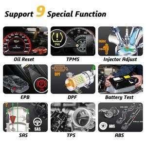 Image 4 - Humzor NexzDAS Pro Full system Bluetooth Auto Diagnostic Tool OBD2 Scanner Car Code Reader with Special Functions