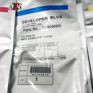 Image 2 - 1PC CMYK kolor proszek wywoływacza 225g dla Ricoh B2309680 MPC 2000 2500 3000 kompatybilny MPC2000 MPC2500 MPC3000 części zamienne kopiarki
