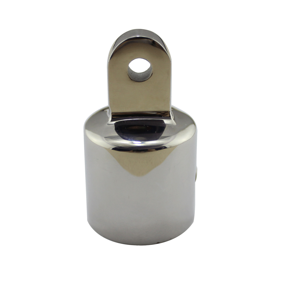 Stainless Steel 316 <font><b>Boat</b></font> <font><b>Bimini</b></font> <font><b>Top</b></font> Cap Hardware 7/8 inch 1 inch Mirror Polish Marine <font><b>Bimini</b></font> <font><b>Tops</b></font> Fitting Hardware image