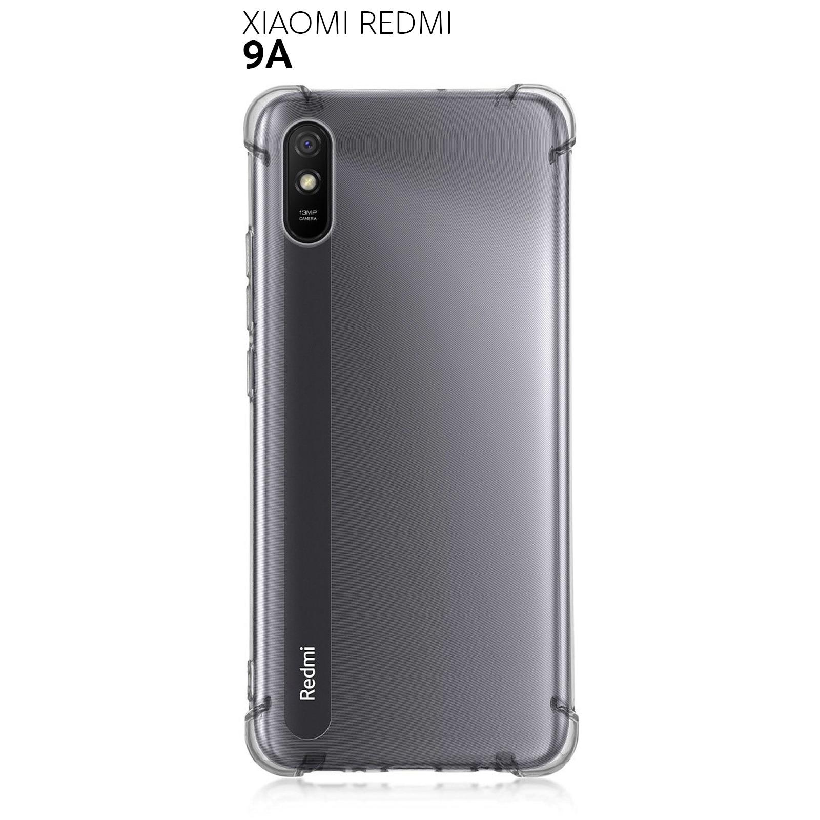 Противоударный силиконовый чехол для Xiaomi Redmi 9A с усиленными углами Бамперы    АлиЭкспресс