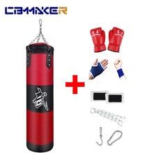 Boxing Bag Sandbag Home Fitness Hook Hanging Kick Punching Training Fight Karate Punch Muay Thai Sand Bag