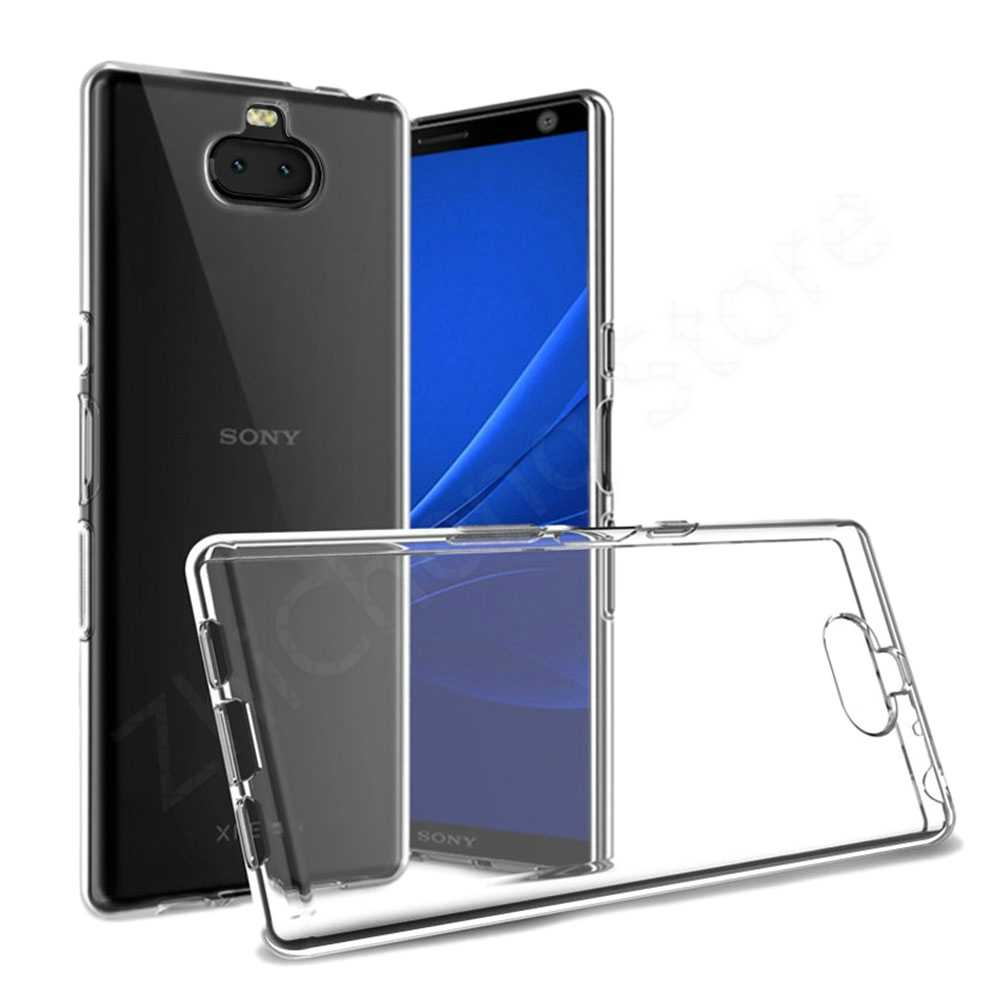 Soft Clear TPU Cases For Sony L1 L2 L3 X XA XA1 XA2 XA3 XZ Ultra Compact Premium X10 Plus Luxury Ultra thin Phone Cover Case