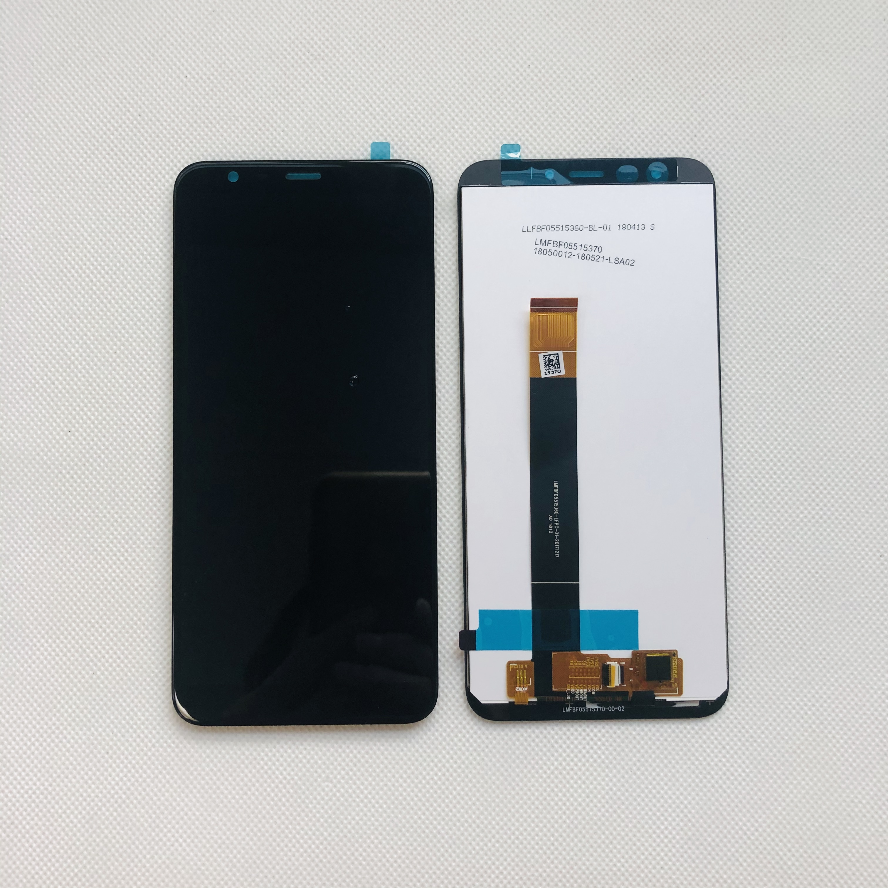 """Image 4 - Original Tested New For 5.45"""" Meizu M8C 8C M810H M809L LCD Display Screen With Frame+Touch Panel Digitizer For Meizu M8C DisplayMobile Phone LCD Screens   -"""