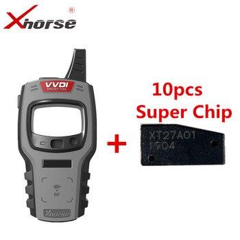 Xhorse VVDI мини ключ инструмент удаленный ключевой программатор поддержка IOS и Android глобальная версия с 10 шт. супер чип