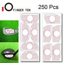 Stickers Ball Impact-Tape Hitting 125-Irons Training Golf Aid-Tool Labels Board-Recorder