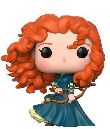 Brave Merida Princess Figure Collection Vinyl Doll Model Toys