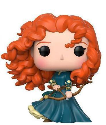 Brave Merida Princess Figure Collection Vinyl Doll Model Toys