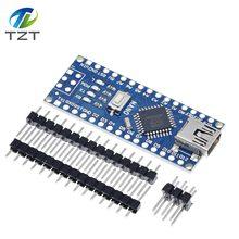 Мини-usb с контроллером загрузчика Nano 3,0 совместимый для Arduino CH340 usb-драйвер 16 МГц NANO V3.0 Atmega328 MCU