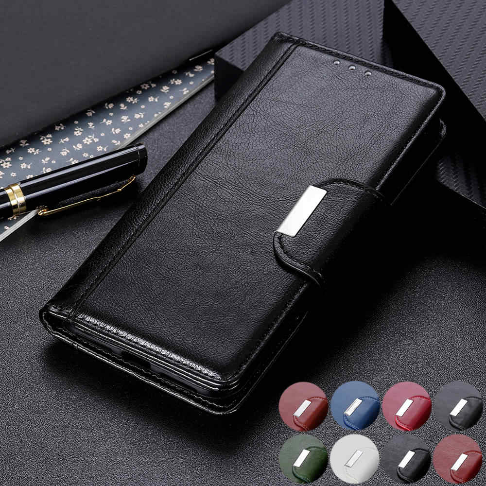 redmi note 5 6 7 pro note 7s 5a Magnetic flip book Case For Xiaomi Redmi Note 7S 5A 5 6 7 8 Pro luxury Leather Wallet Cover case