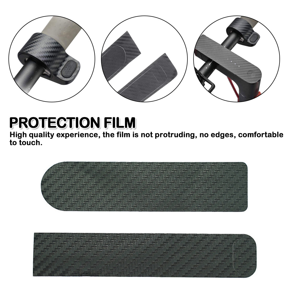 Electric Scooter Membrane Sticker Accessories Dashboard Protection Film Cover For Xiaomi M365