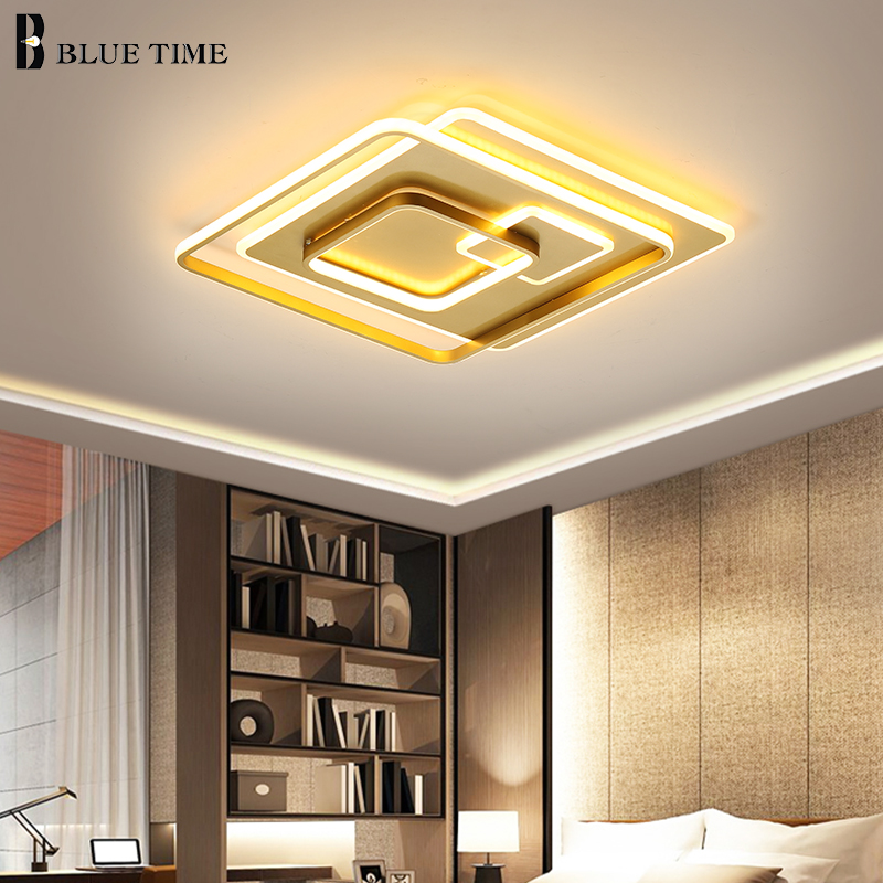 New Design LED Ceiling Lights For Living Room Dining Room Luminaires Led Lights Modern Ceiling Lamps Home Lighting Fixture
