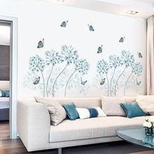 Nordic Стиль наклейки на стену с рисунком цветов домашний декор