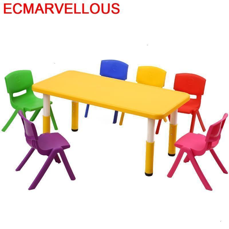 Pour Tavolo Bambini Mesinha Chair And Kindertisch Kindergarten Mesa Infantil Bureau Enfant Study For Kids Kinder Children Table