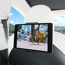 Support de téléphone pour siège arrière de Tesla Model 3, pivotant sur 360 degrés, Auto, appui-tête, pour tablette, PC, iPad Mini Pro, voiture A
