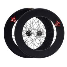 Koła kolarskie 90mm obręczy 70mm stopu aluminium Flip-flop koła MTB szosowe koła rowerowe Fixie rowerowe akcesoria rowerowe