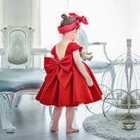 Vestido de princesa bordado para niña, vestido elegante para fiesta o boda, 2021