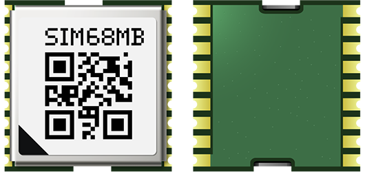 SIMCOM SIM68MB Standalone GPS L1 Frequency And BD2 GNSS Module In A SMT Type With MTK's High Sensitivity Navigation Engine