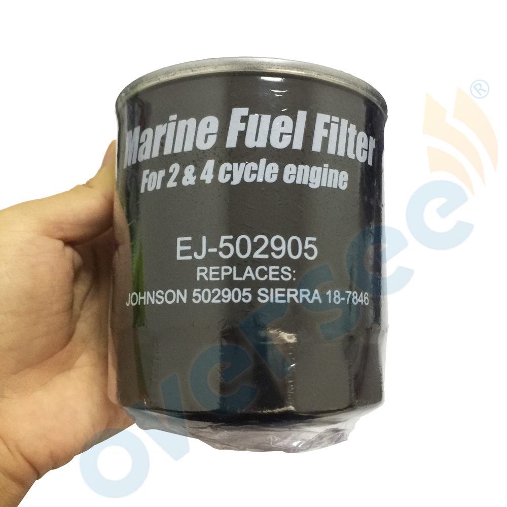 FILTER Outboard-Engine Mercury for Johnson OMC 502905 Sierra 18-7846 And 98841 35-802893T