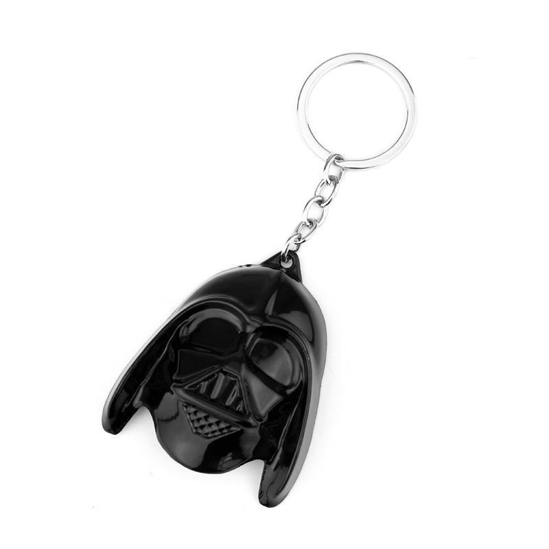 Star The Rise Of Skywalker Keyring Black Warrior Keychain For Fans Gift Chaveiro Key Chain Jewelry