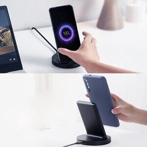 Image 2 - Xiaomi אנכי אלחוטי מטען נוער WPB15ZM מהיר אלחוטי מטען נייד טעינת 20W מהיר טעינת טלפון נייד מטען