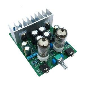 Image 2 - AIYIMA 6J1 safra tampon tüp preamplifikatör ses kartı LM1875T güç amplifikatörü kurulu 30W Preamp kulaklık amplifikatörü AMP DIY kitleri