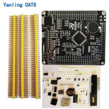 STM32F4 development board ARM Cortex M4 STM32F407VE VG 417VE VGT6 LQFP100 pin MCU controller chip Empty board Kit 1PCS  YL-136 цена 2017